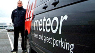 Meteor meet and greet i love airport parking driver behind van m4hsunfo