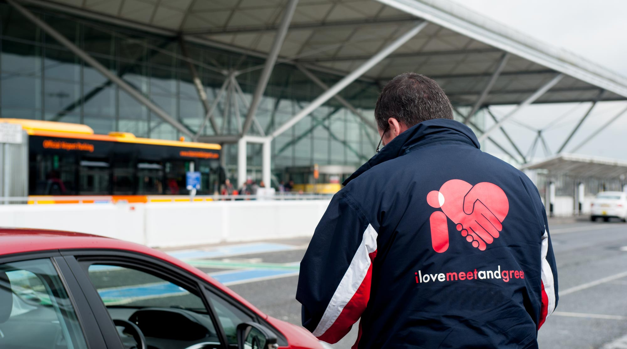 I love meet and greet stansted stansted airport parking i love meet and greet driver at terminal kristyandbryce Image collections
