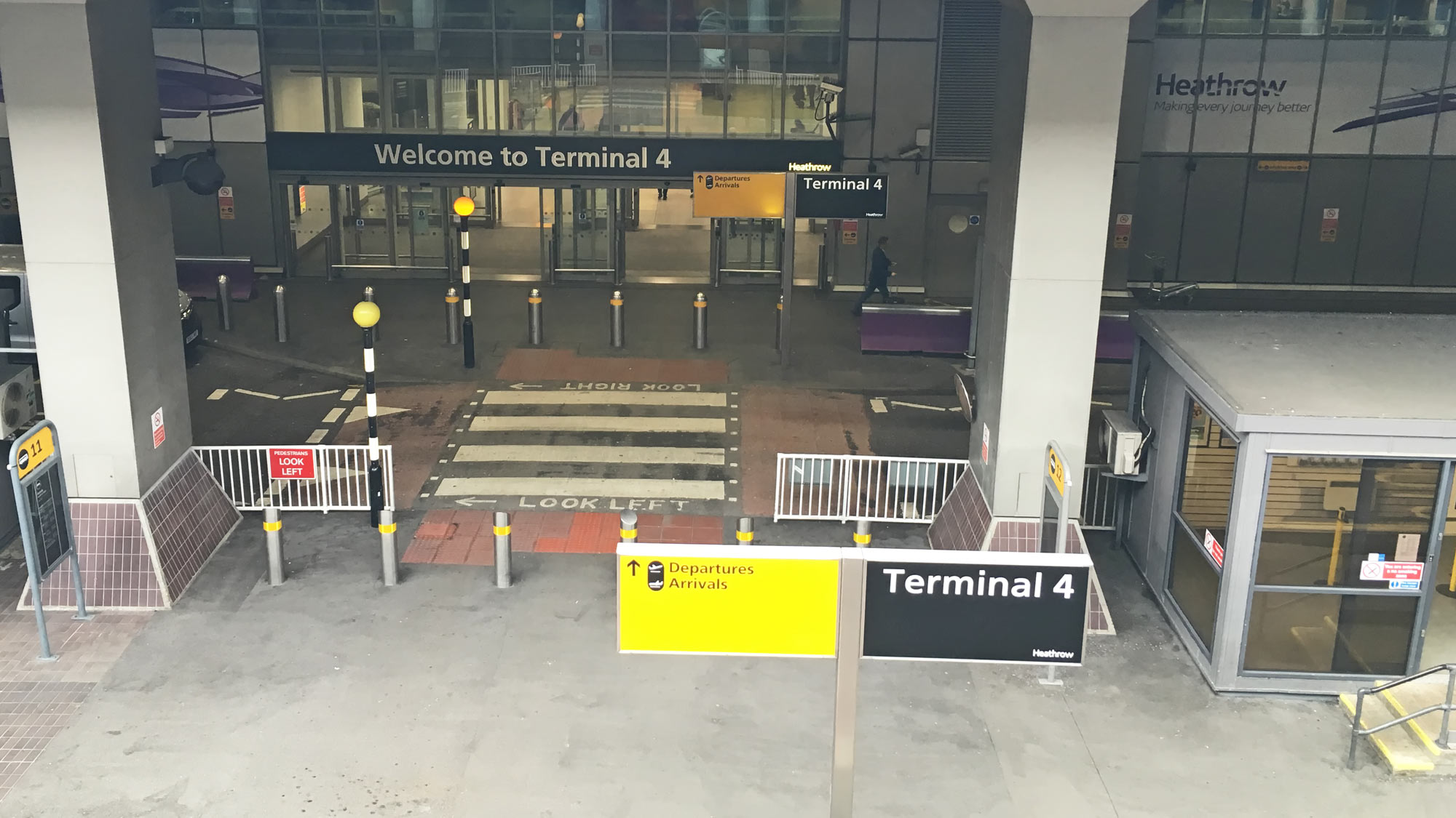 Terminal 4 at Heathrow