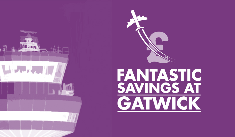 Savings at Gatwick