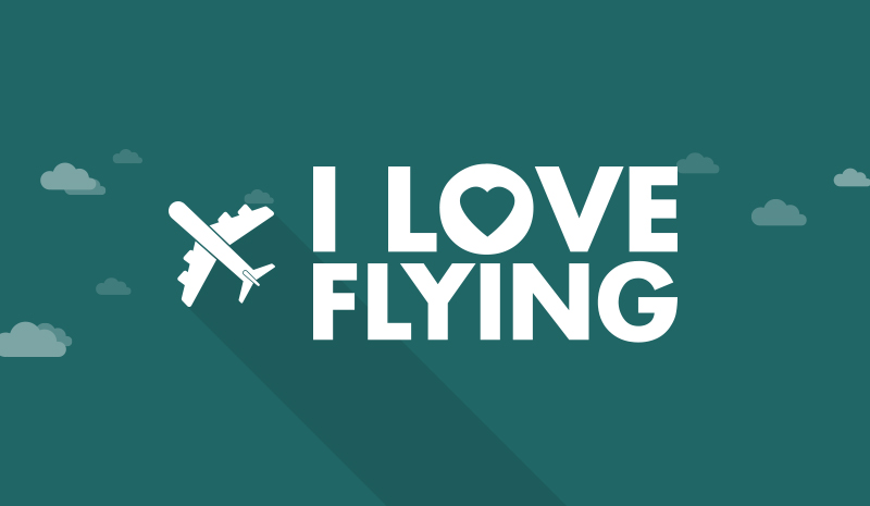 Love flying