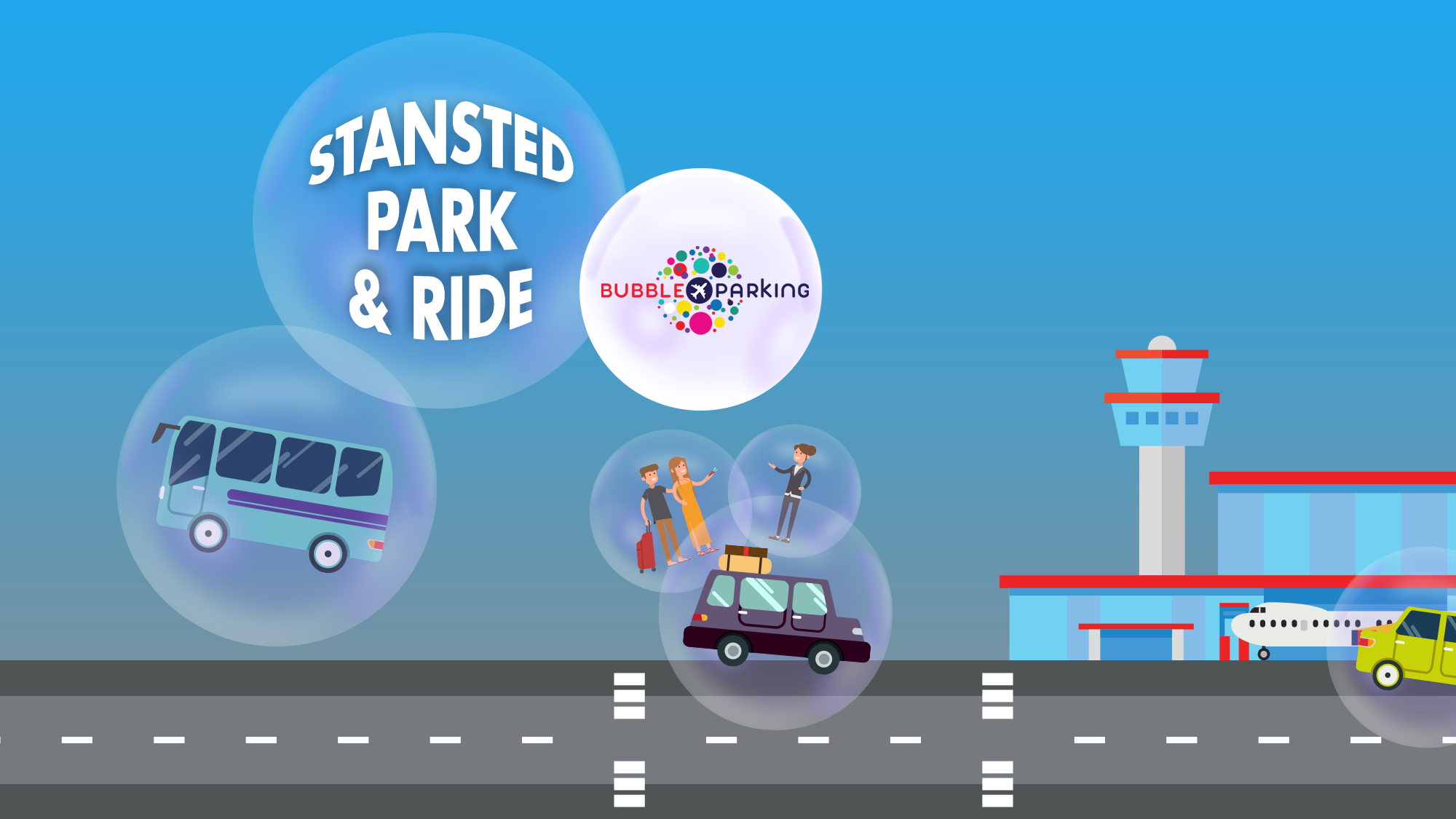 Bubble Park And Ride I Love Airport Parking